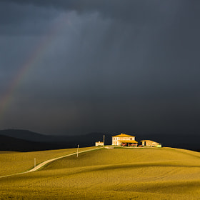 Drama in Tuscany by Hans Kruse (hanskrusephotography)) on 500px.com