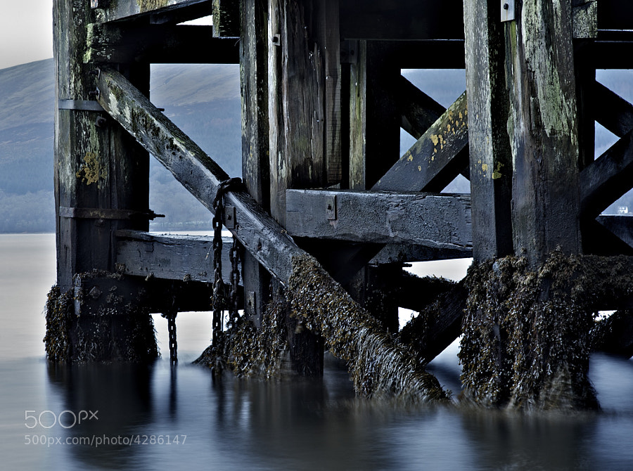 ...the pier at Inveraray....