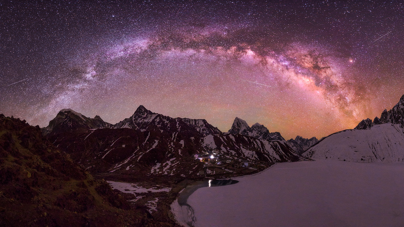 Photograph Intergalactic Gokyo by Dylan Gehlken on 500px