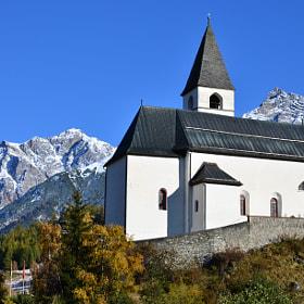 church of tarasp in suisse