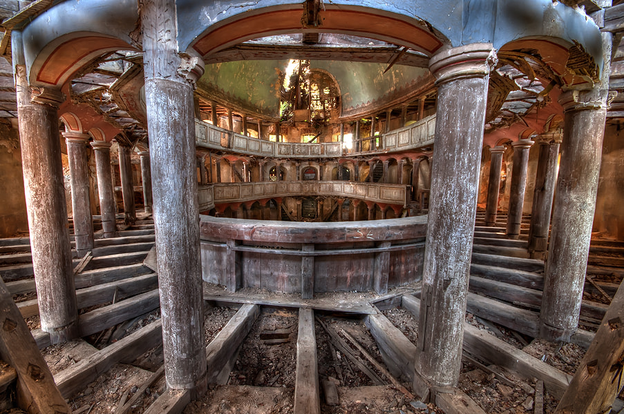 Photograph abandoned evangelical church by Marek LACHENDRO photography on 500px