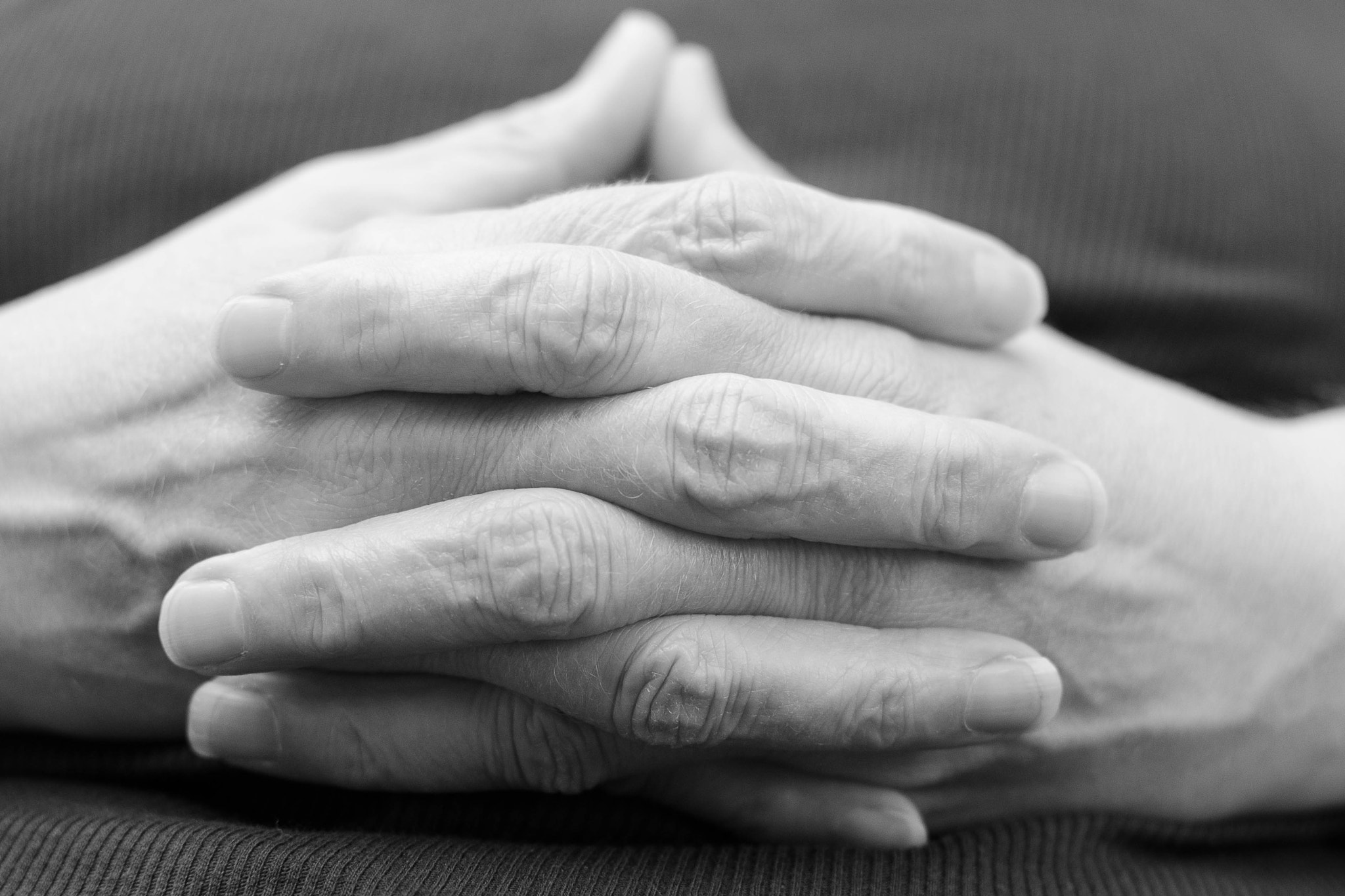 Photograph Molly's Hands by Charles  Olsen on 500px