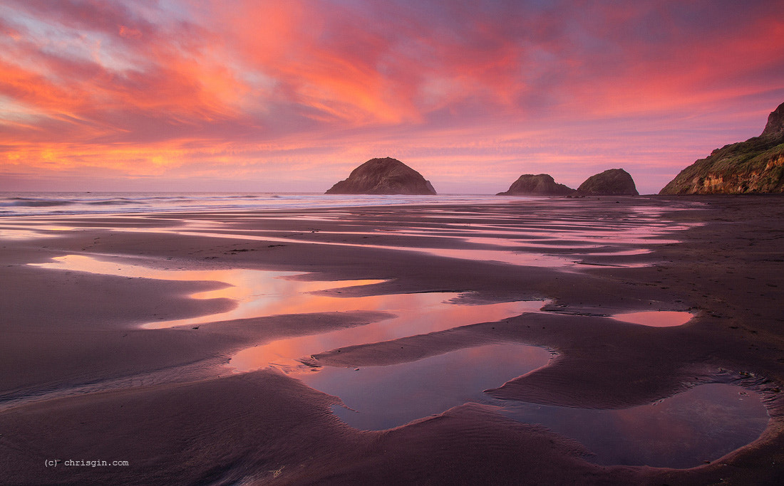 Photograph Back Beach, NZ by Chris Gin on 500px