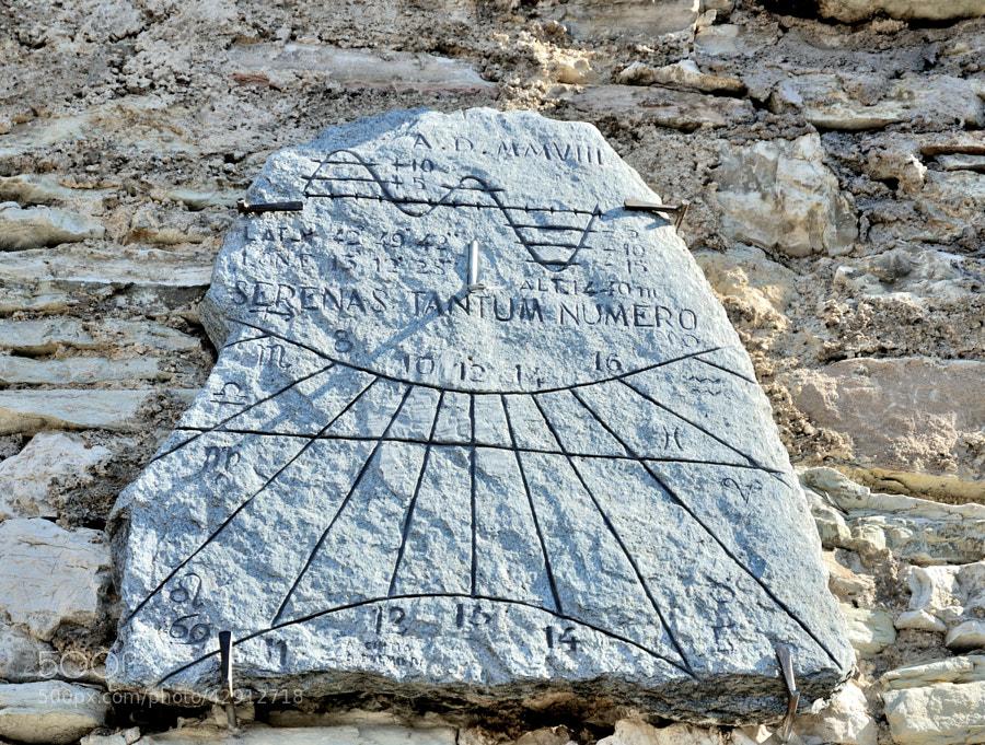 Sundial of Castelluccio...