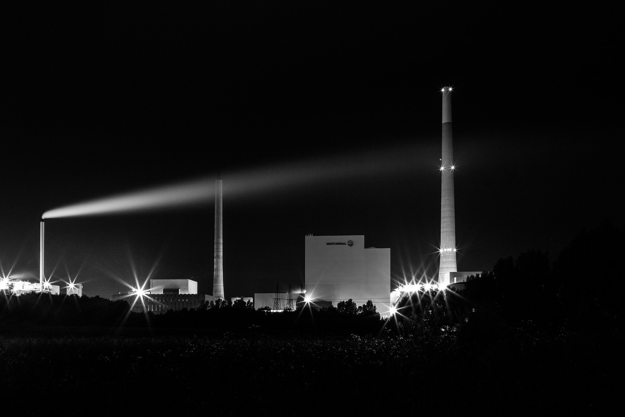 Photograph Power Plant by Gert Lavsen on 500px