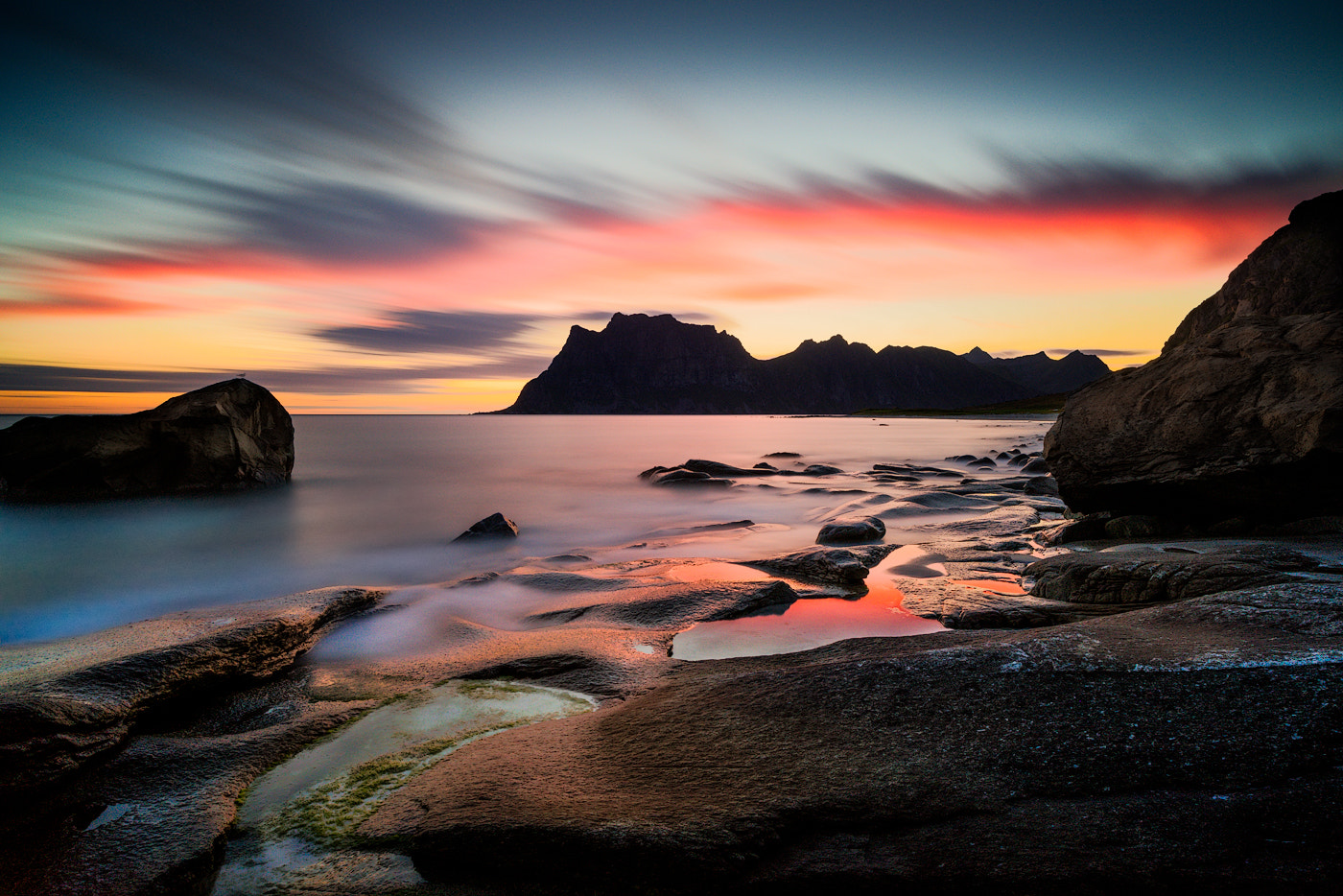 Photograph Utakleiv Sunrise by Magnus Larsson on 500px