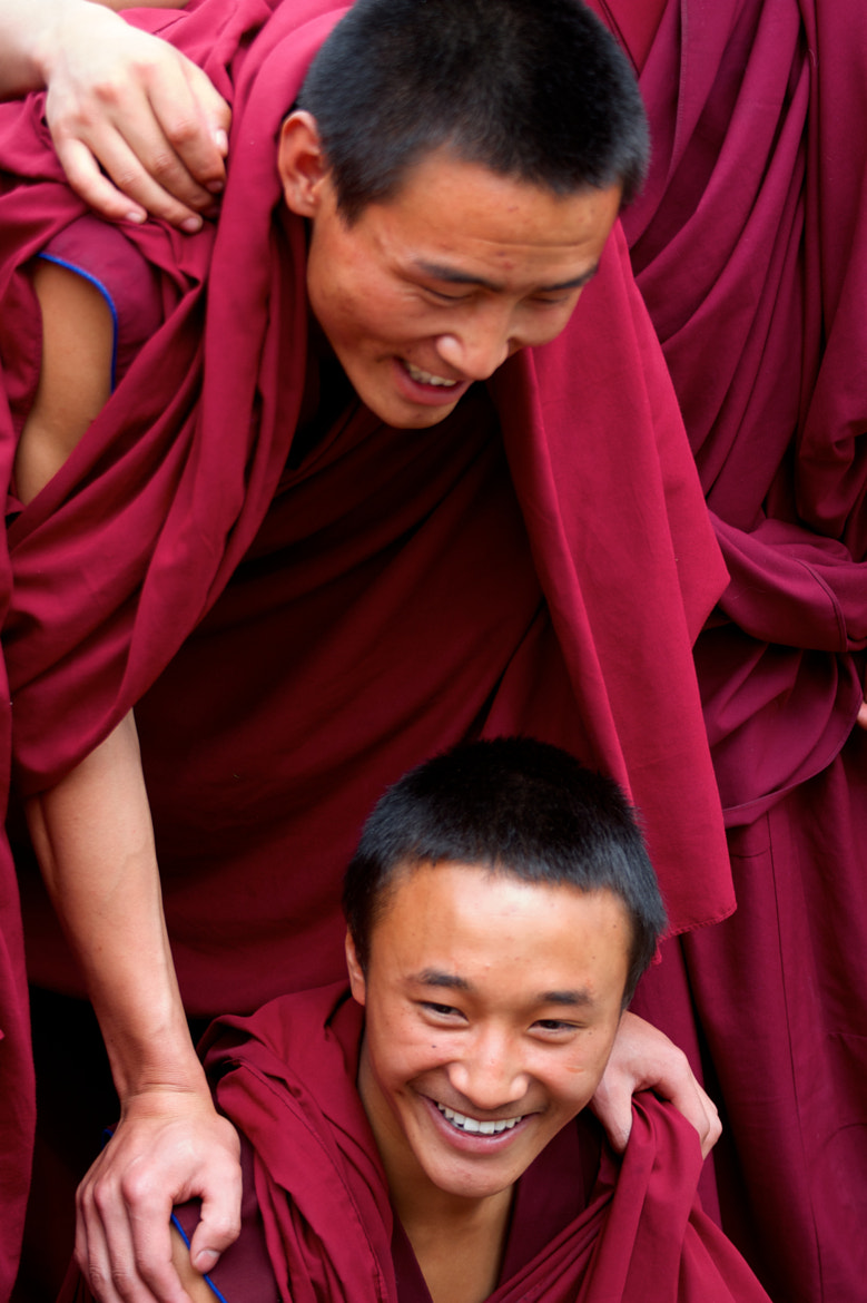Photograph Buddhist Monks in Qinghai by Cva71 on 500px