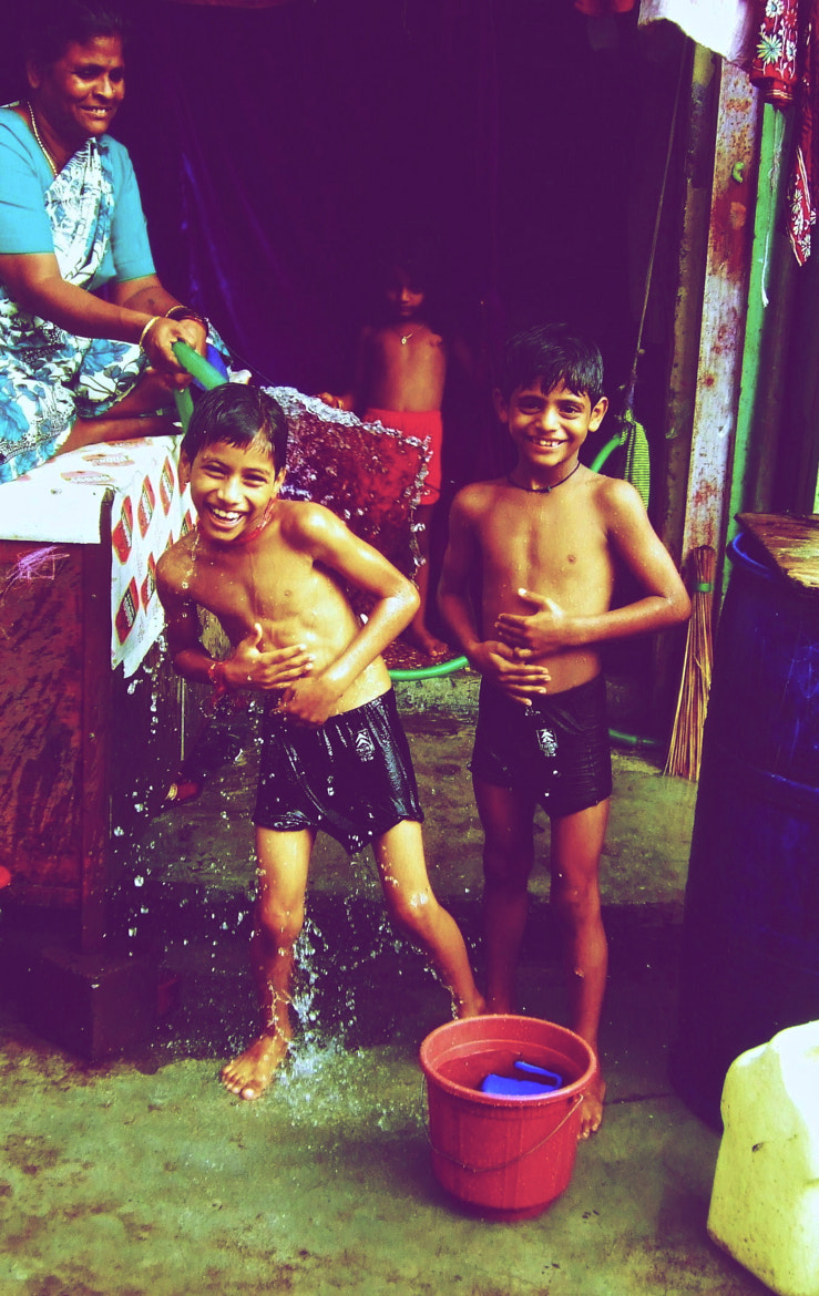 Photograph shower time, india by Sean  Blacknell on 500px