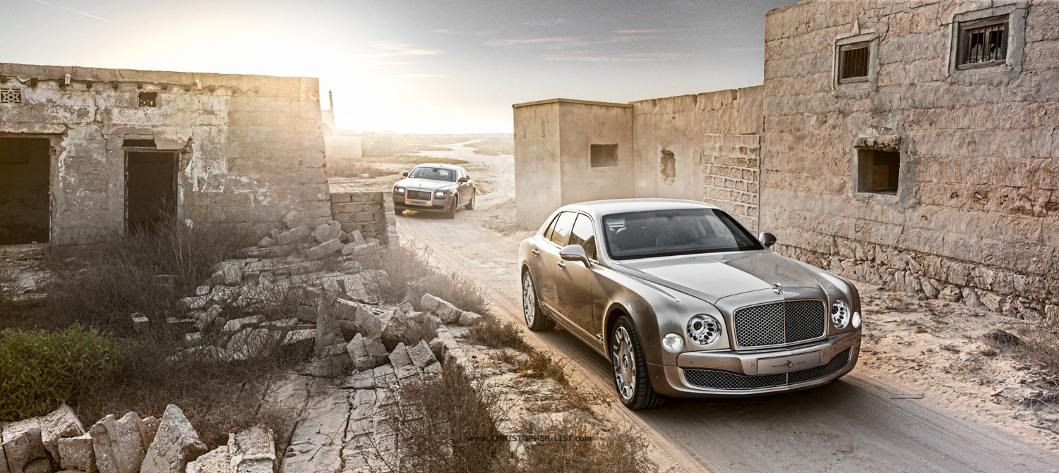 Photograph Ghost vs Mulsanne by Christopher List on 500px