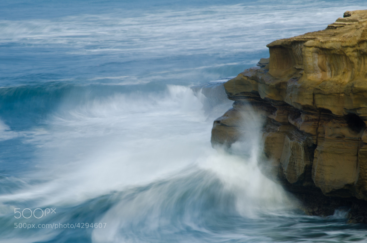 Photograph Sunset Cliffs Morning Wave by David McCurry Photography on 500px