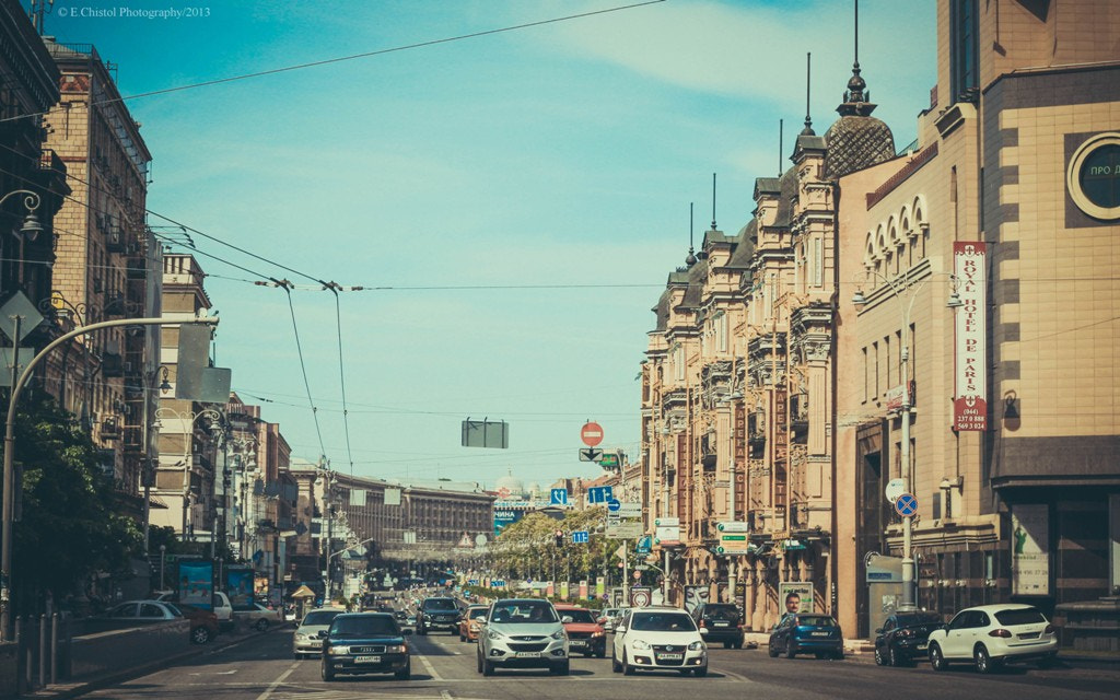 Photograph Kiev architecture by Eugene  on 500px