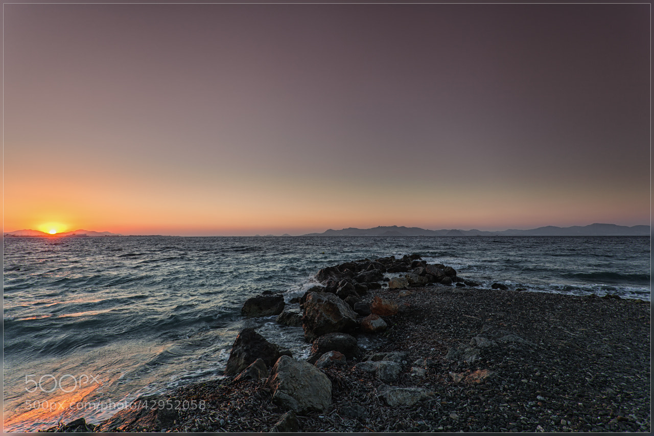 Photograph Sunset Kos by Christophe Vandeputte on 500px