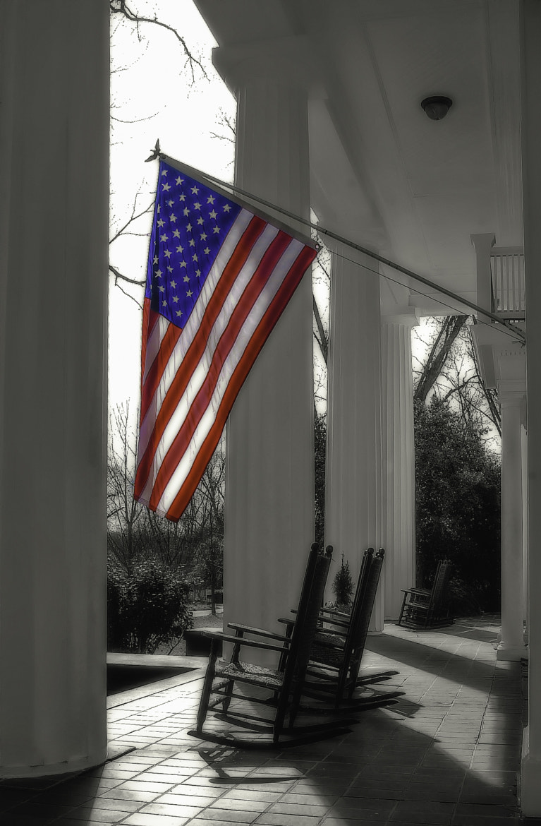 Photograph american flag by David Schauer on 500px