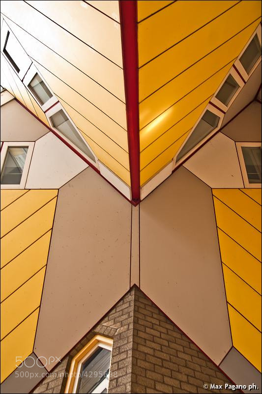 Photograph Cube Houses, Rotterdam by Max Pagano on 500px