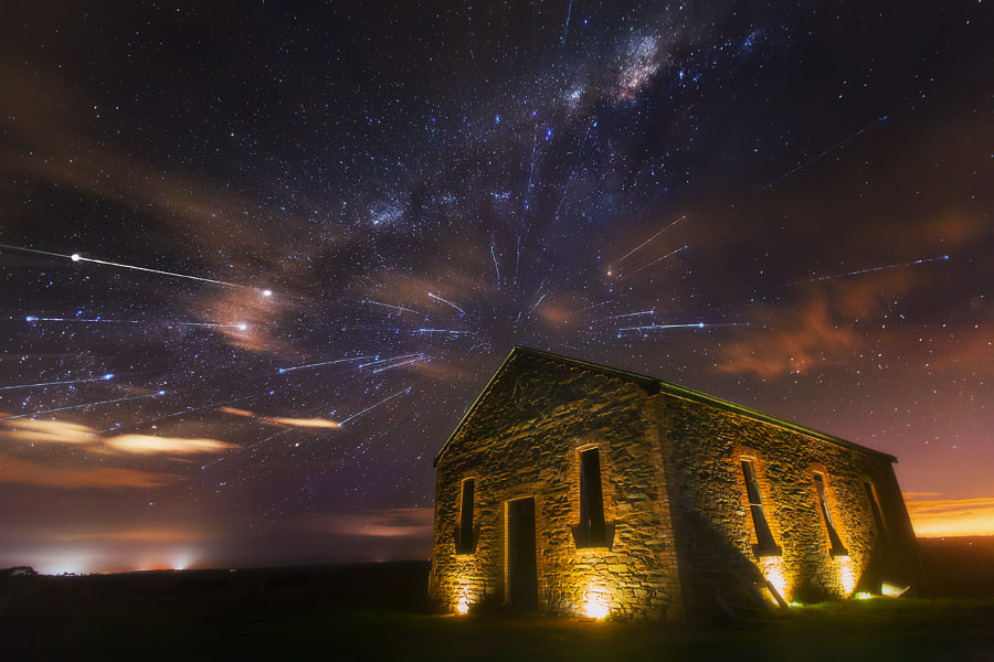 Star Shower by Dylan Toh & Marianne Lim on 500px.com
