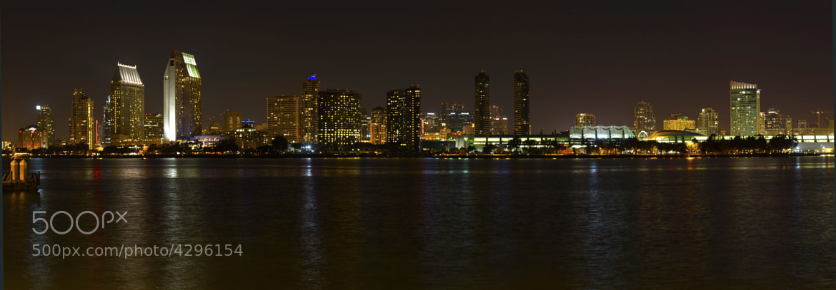 Photograph San Diego Night Panoramic by Steve Foster on 500px