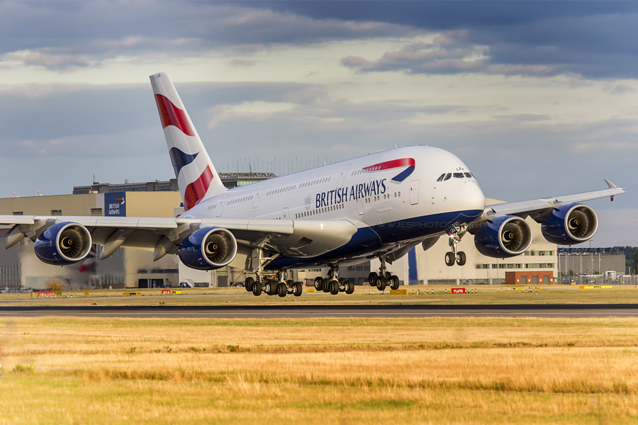 Photograph A380 Superjumbo by Ian Schofield on 500px