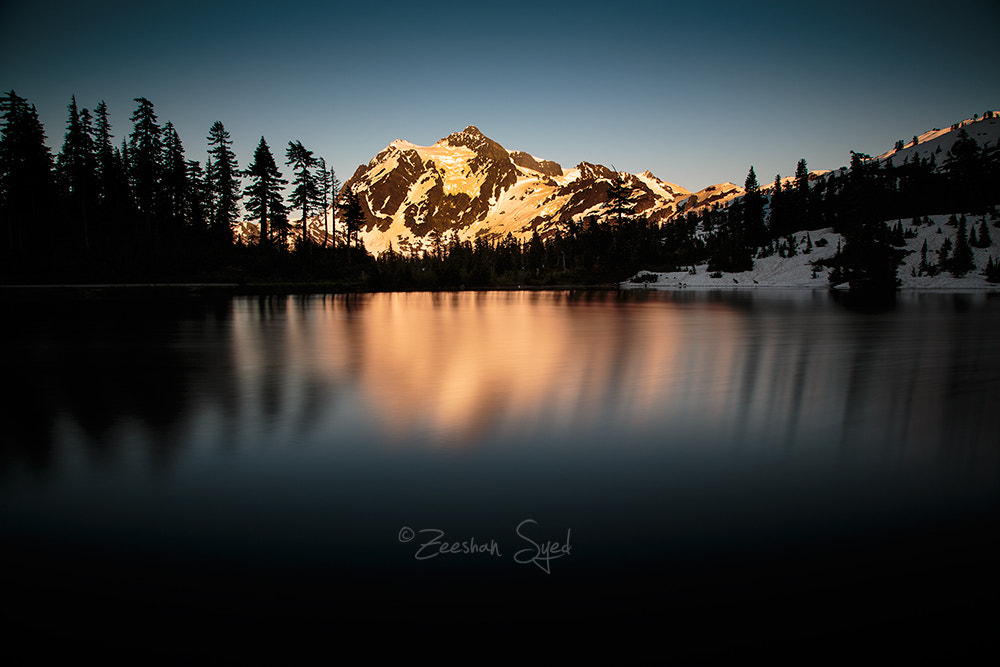 Photograph Silent Lake by Zeeshan Syed on 500px
