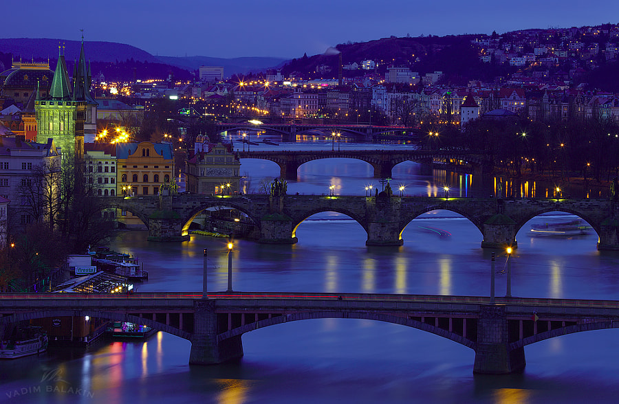 Photograph Prague Bridges by Vadim Balakin on 500px