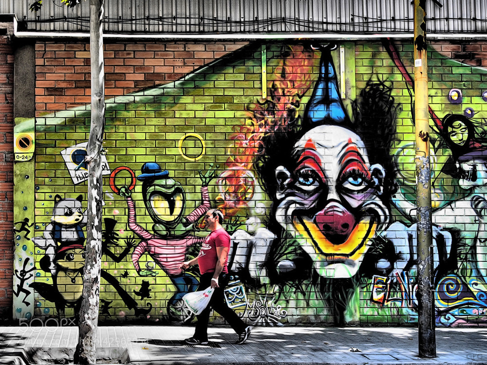 Photograph The Clown by Gemma  on 500px