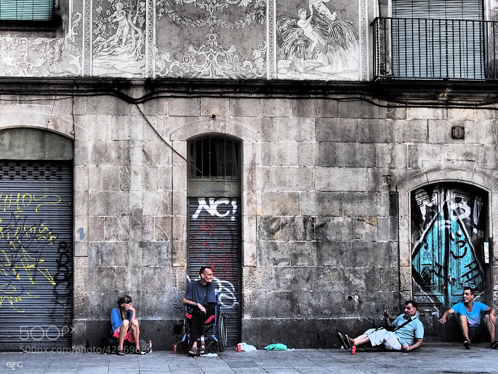 Photograph Historias de la calle by Gemma  on 500px