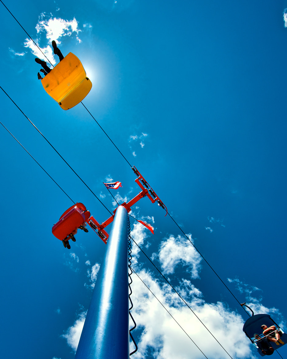 Photograph Sky Ride by Berkehaus  on 500px