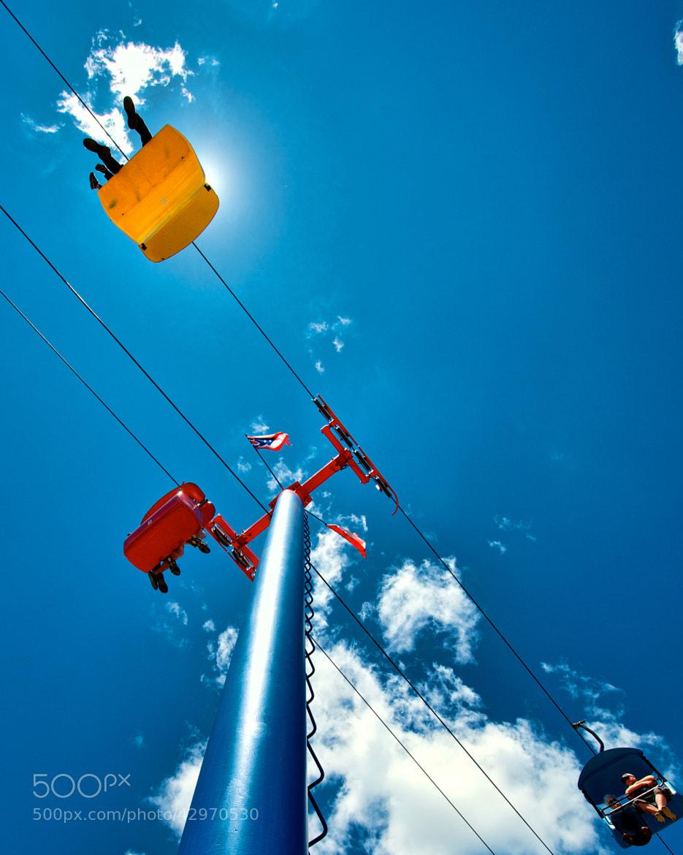 Photograph Sky Ride by Berkehaus  on 500px