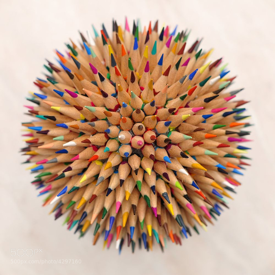 Pencil planet by Yakov Volkind on 500px.com