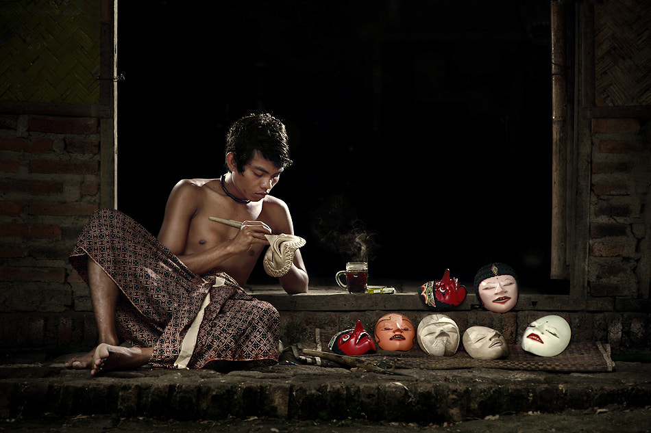 Photograph The Theatrical Dance Mask Master by Ario Wibisono on 500px