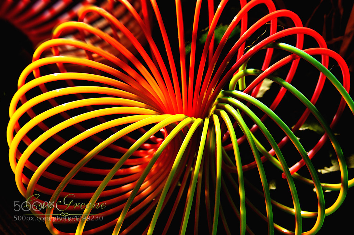 Photograph Colorful slinky by Cass Peterson Greene on 500px