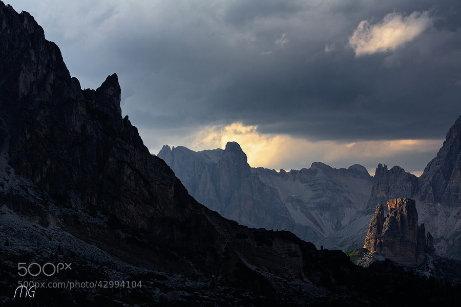 Photograph Dolomites-Visions intimes #3 by Marina Garrido on 500px