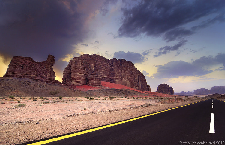 Photograph beside the road by khaled alamrani on 500px
