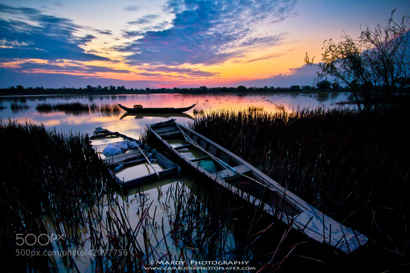 Photograph 3 boats! by Mardy Suong Photography on 500px
