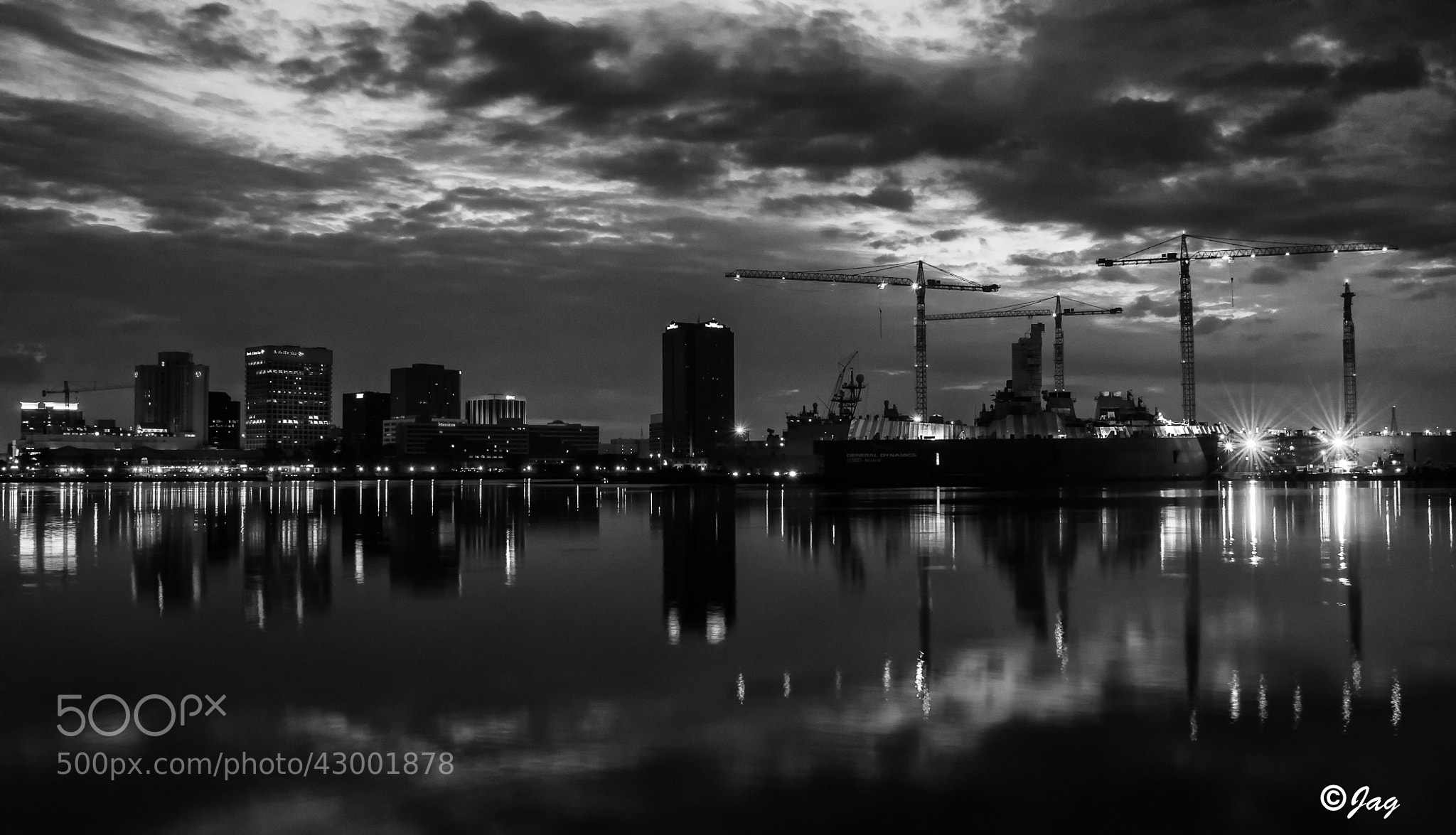 Photograph Norfolk,Virginia Skyline by James Gramm on 500px