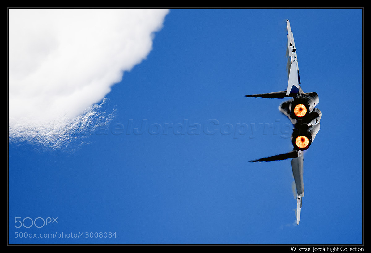 Photograph MIG 29 (2012) by Ismael Jordá on 500px