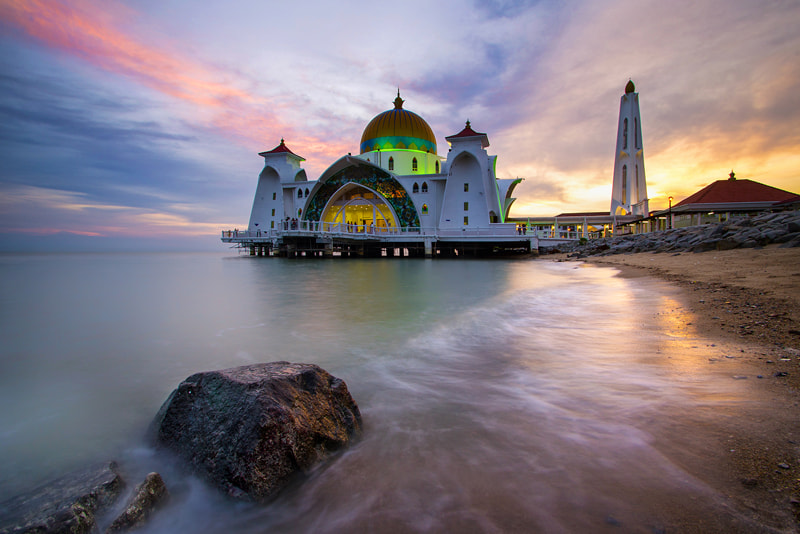 Photograph The Floating Mosque by WK Cheoh on 500px