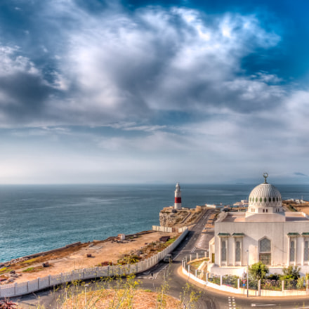 The Mosque, lighthouse and Morroco