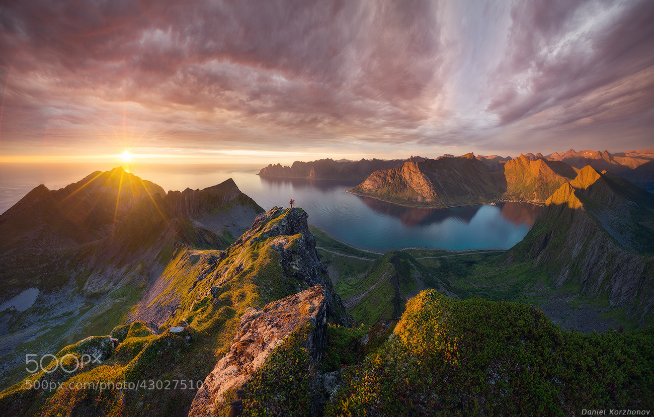Photograph Midnight sun by Daniel Kordan on 500px