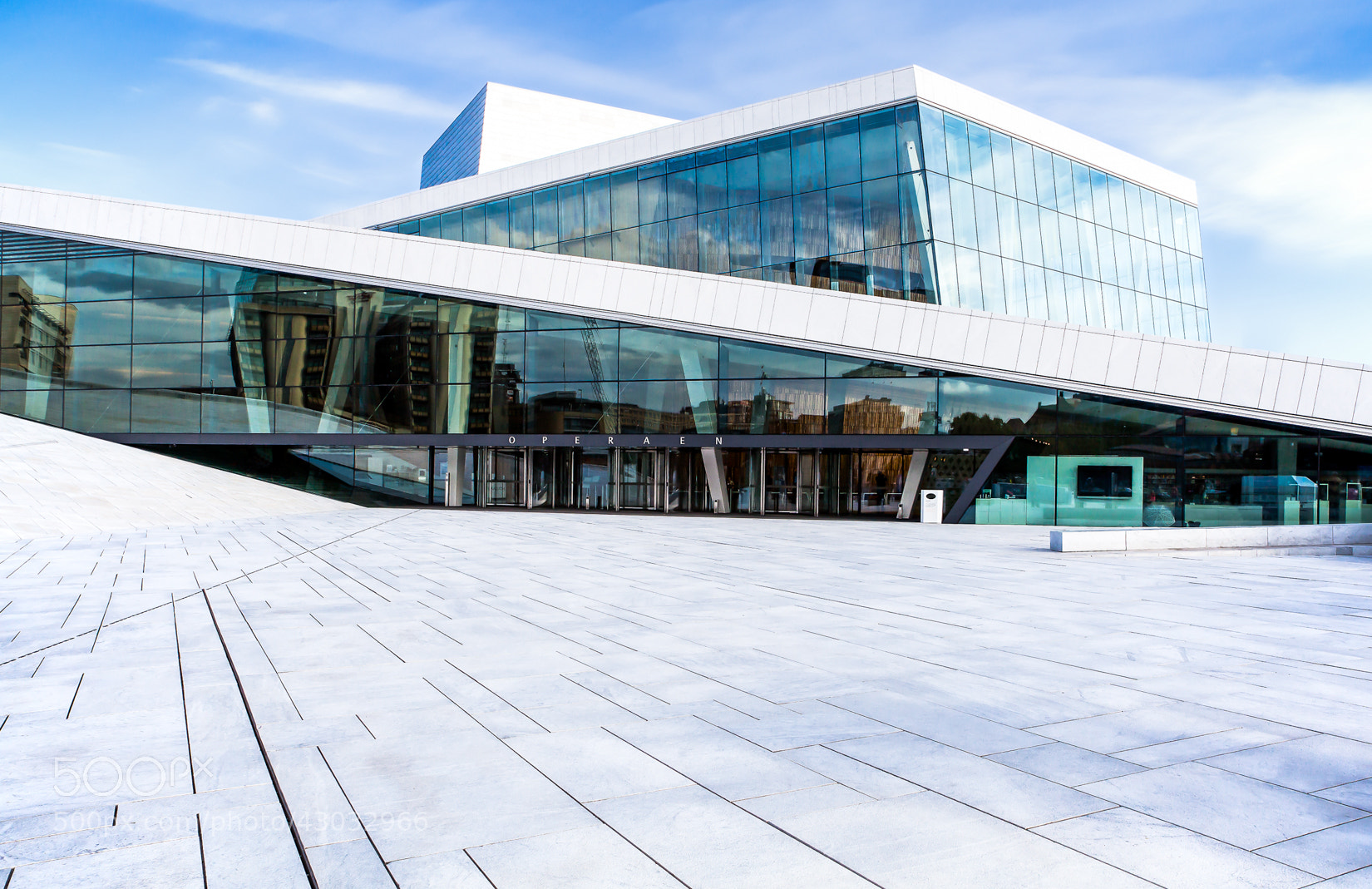 Photograph Opera House Oslo by Christian Fischer on 500px