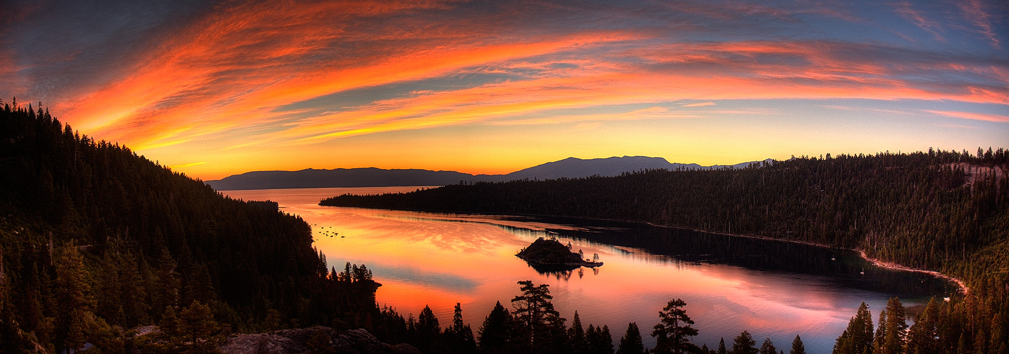 Photograph Tahoe Sunrise by James Hellesen on 500px