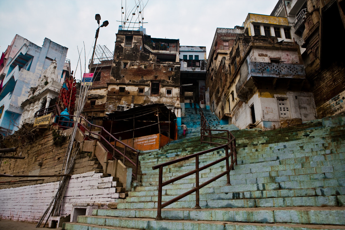 Photograph Stairs and City by Eddie McShane on 500px