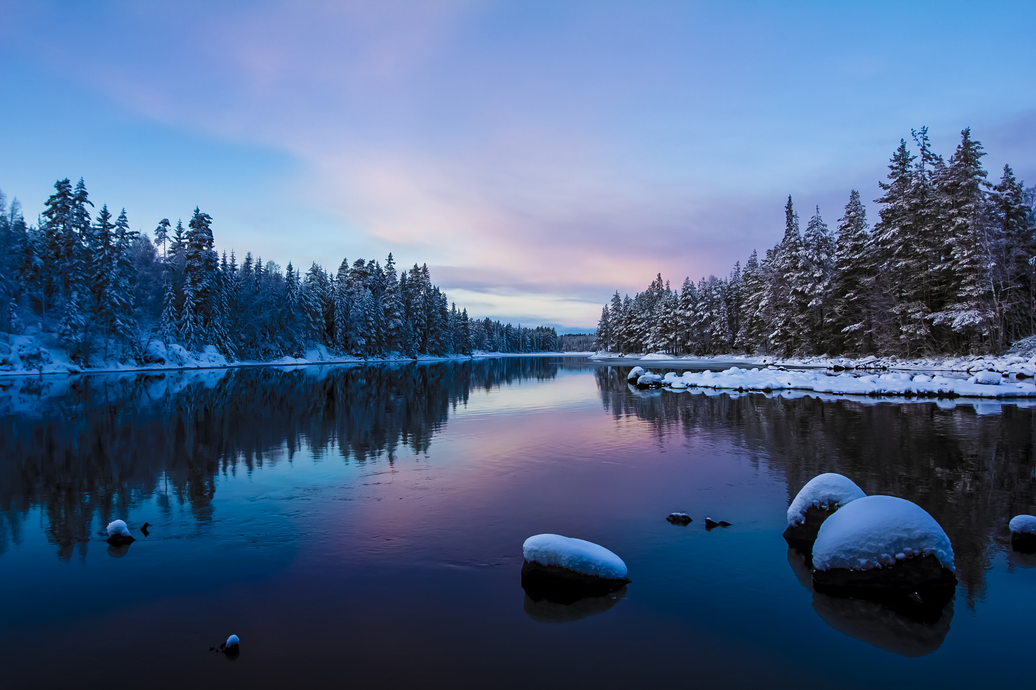 Photograph Johannisholm Winter by Leigh  Bloomfield on 500px