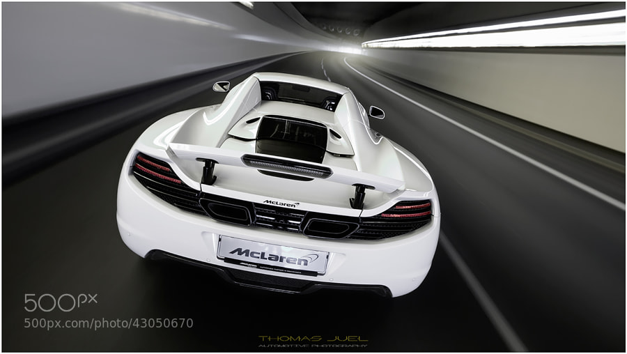 Photograph Mclaren MP4 12C Spider by Thomas Juel on 500px