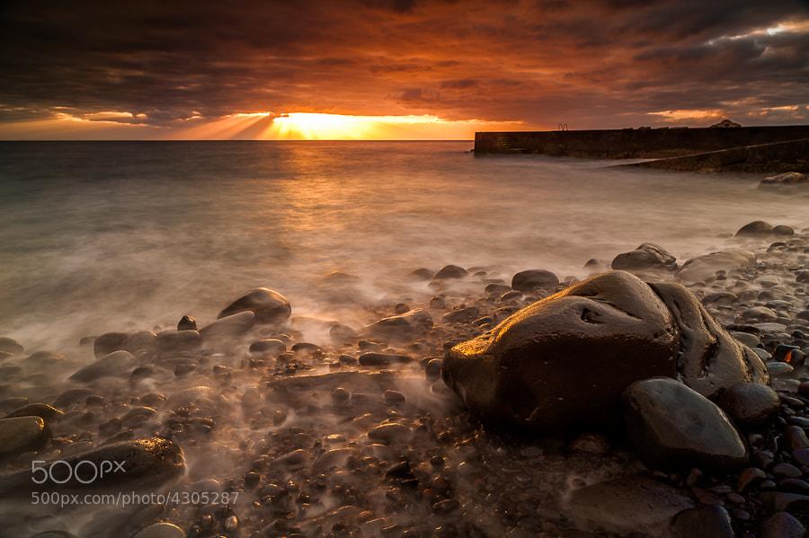 Photograph Madeira Sunset, Jardim do Mar (LR4 Beta) by Magnus Larsson on 500px