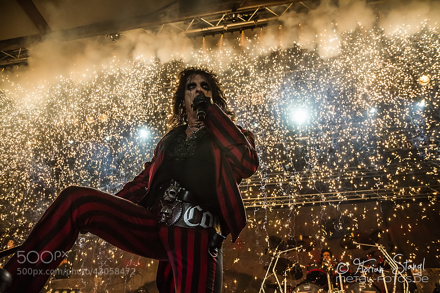 Photograph Alice Cooper live in Germany by Florian Stangl on 500px