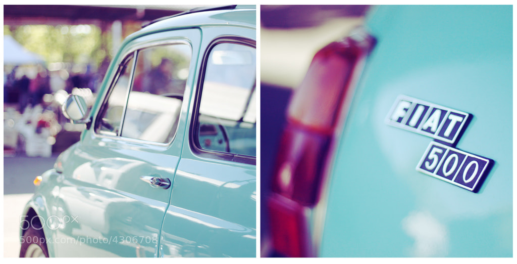 Photograph Fiat 500 by Isabella Allegrini on 500px