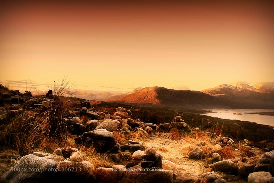 View over Loch Loyne, Highlands