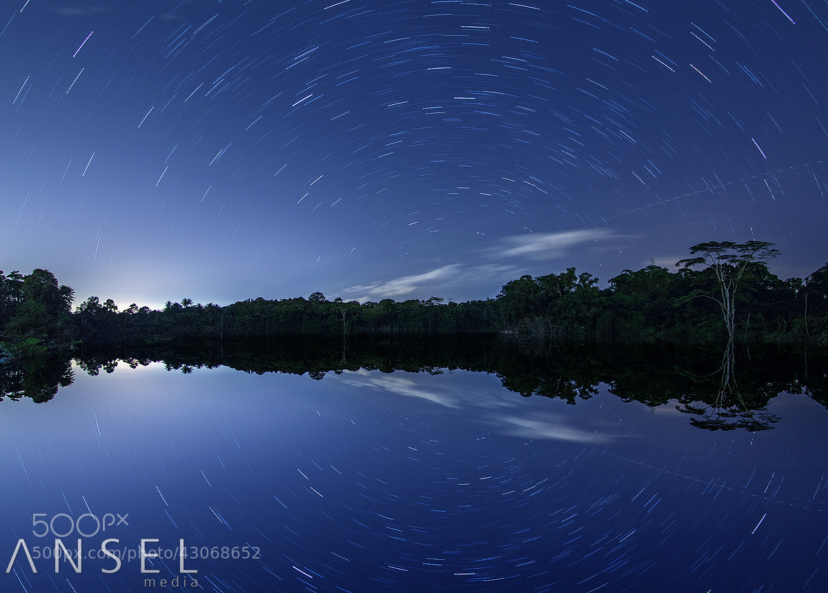 Photograph Star Trailing Papa U by Jonathan Danker on 500px