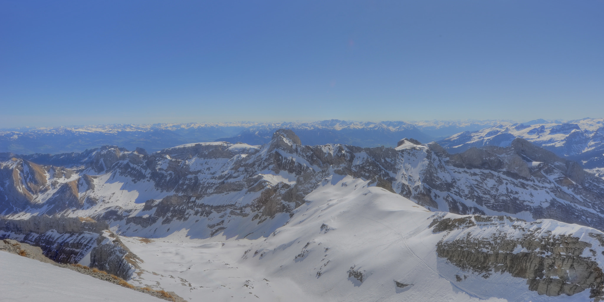 Photograph Panorama from Säntis by Daniel J Mueller on 500px