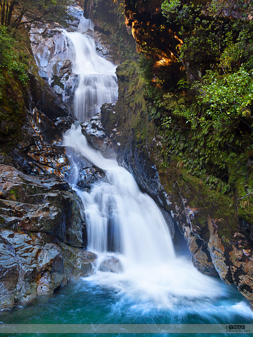Photograph Amazing waterfall near The Divide by Tim McGuire on 500px